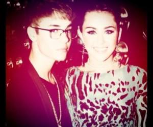 destiny, miley cyrus, and justin bieber image