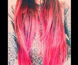 colourful, hair, and hairstyle image
