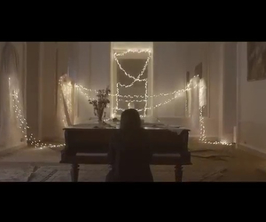 lights, music video, and song image