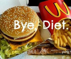 diet, food, and bye image