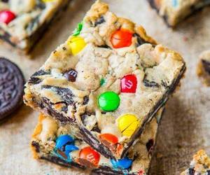 cookie, m&m's, and oreos image