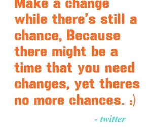 chance, change, and twitter image