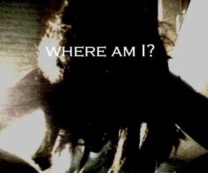 girl, lost, and hiding image