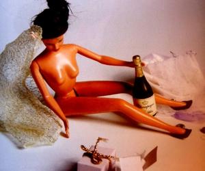 barbie, bridesmaid, and wedding image