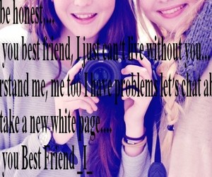 best friend, bff, and quotes image
