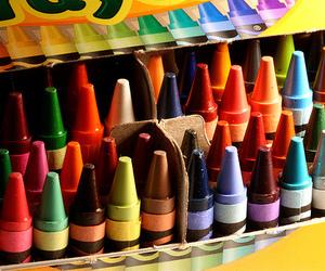 crayon, crayola, and color image