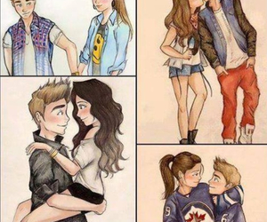 couple, forever, and swag image