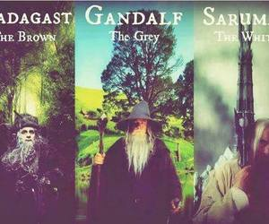 gandalf, LOTR, and the hobbit image