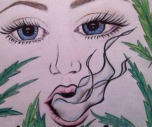 drawing and smoke image