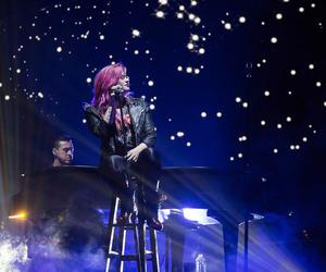 concert, demi lovato, and night image