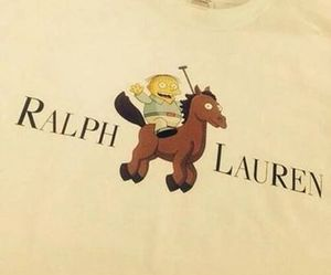 lauren, ralph, and the simpsons image