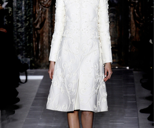 sparkly, valentino couture, and white image