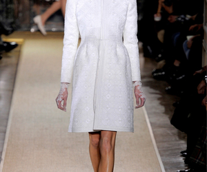 long sleeve, white, and runway image