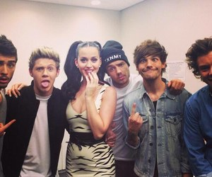 one direction, katy perry, and liam payne image