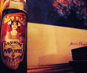 absinthe, old, and alcohol image