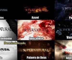 spn, supernatural, and spn all seasons image