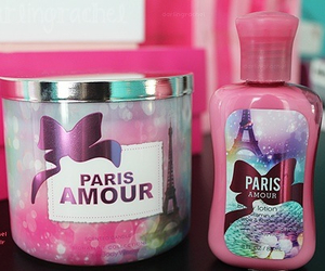 amour, paris, and pink image