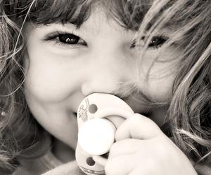 childhood, cute, and blackandwhite image