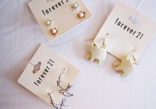 forever 21, earrings, and forever21 image
