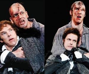 Frankenstein, jonny lee miller, and benedict cumberbatch image