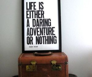 adventure, life, and quote image