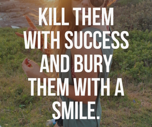 smile, quote, and success image