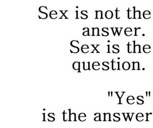 sex and text image