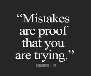 mistakes, quote, and proof image