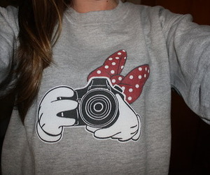 camera, fashion, and sweater image