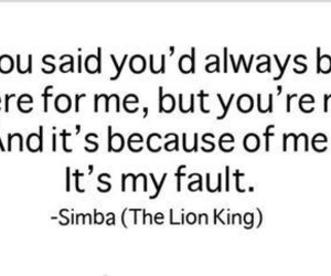 quotes and simba image