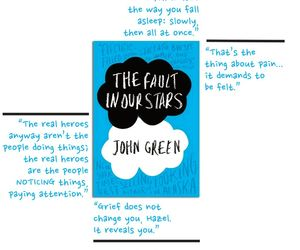john green, thefaultinourstars, and quotes image