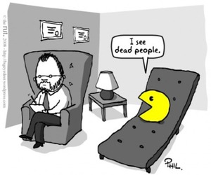 pacman and funny image