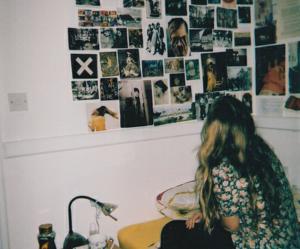 girl, grunge, and room image