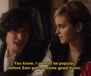 emma watson, quote, and the perks image