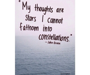 john green, stars, and quote image