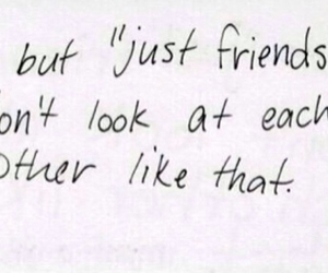 just friends, life quotes, and girl quotes image