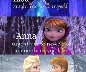 frozen, anna, and sisters image