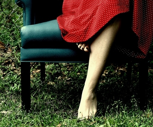 armchair, explore, and red image