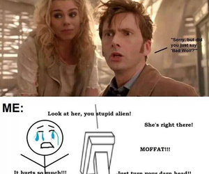 doctor who, bad wolf, and david tennant image