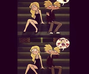 adorable, hey arnold, and arnold image