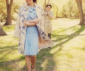 lauren cohan, steven yeun, and the walking dead image