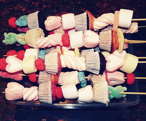 candies and marshmallow image