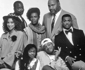 will smith, fresh prince, and family image