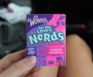 nerds, candy, and yum image