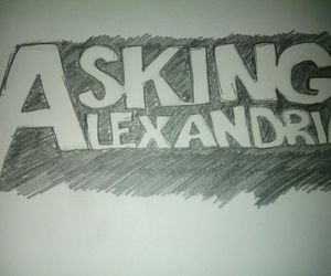 drawing and asking alexandria image