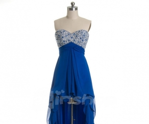 blue, fashion, and Prom image