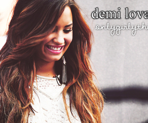 demi lovato, girly things, and smile image