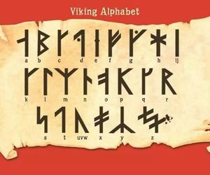 alphabet, viking, and hiccup image