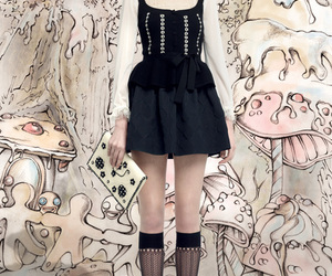 fashion, dress, and fairytale image