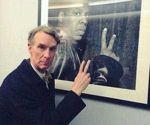 jay z, bill nye, and funny image